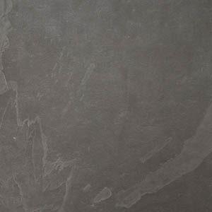 Palmeta de piedra pizarra negra grafito