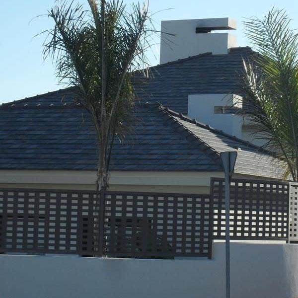 techo con cubierta de piedra natural pizarra